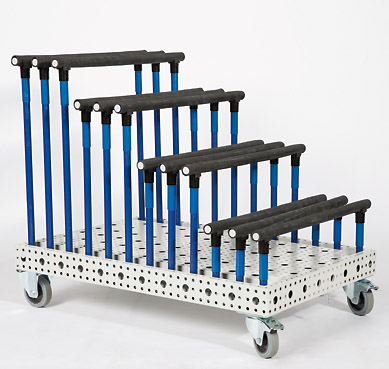 Lean platform trolley Adaptability